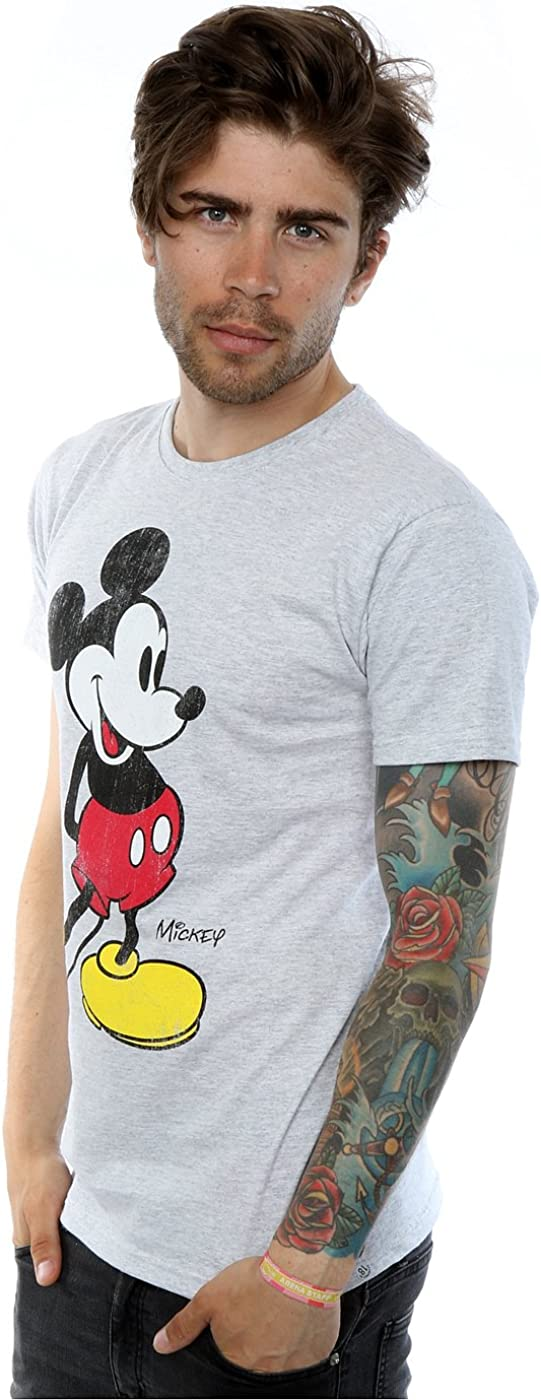 Disney Mickey Mouse Classic Kick T-Shirt Homme
