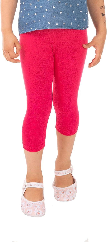 BeLady M/ädchen 3//4 Leggings aus Baumwolle Blickdicht Capri Gr/ö/ße 92 98 104 110 116 122 128 134 140 146 152 cm Viele Farben Rot Blau Grau