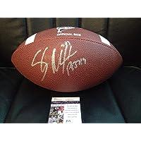 $293 » Shaun Alexander Autographed Signed NCAA Football Autograph Alabama Crimson Tide Seahawks JSA