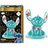 Hanayama Disney Crystal Gallery Hawaiian Blue Stitch 3D Puzzle (43 Piece)