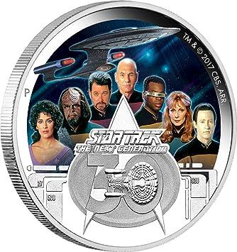 Crew Star Trek Next Generation 30 Jahrestag 2 Oz Silber Münze 2