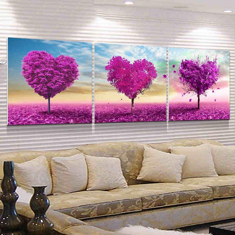 Hochwertige Wandschmuck (Crystal Screen) Schlafzimmer Frameless Malerei Wohnzimmer Dekorative Malerei Simple Modern Restaurant Fresko ( farbe : 1002 , größe : 70*70cm )