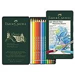 Lápis de Cor Aquarelável Albrecht Durer 12 Cores, A&G Faber-Castell