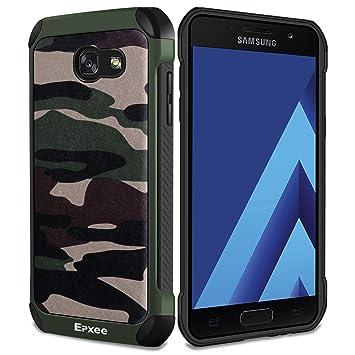 5e7aabab174 Epxee Funda Samsung Galaxy A3 2017, Silicona [Shock-Absorción] Case Carcasa para  Samsung Galaxy A3 2017 (Camuflado-001): Amazon.es: Electrónica
