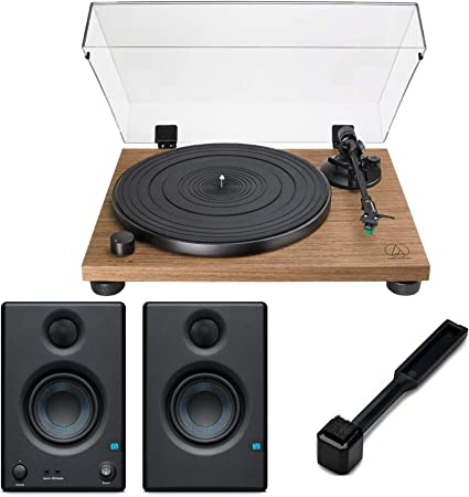 Amazon.com: Audio-Technica AT-LPW40WN - Tocadiscos (nogal, 2 ...