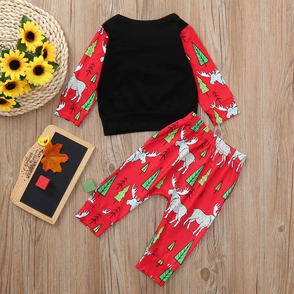 Hosen Kleidung Set Herbst Langarm F/ür 0-24 Monate sunnymi 2pcs Baby M/ädchen Tops