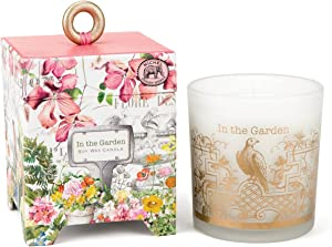 Michel Design Works Gift Boxed Soy Wax Candle, 6.5-Ounce, in The Garden