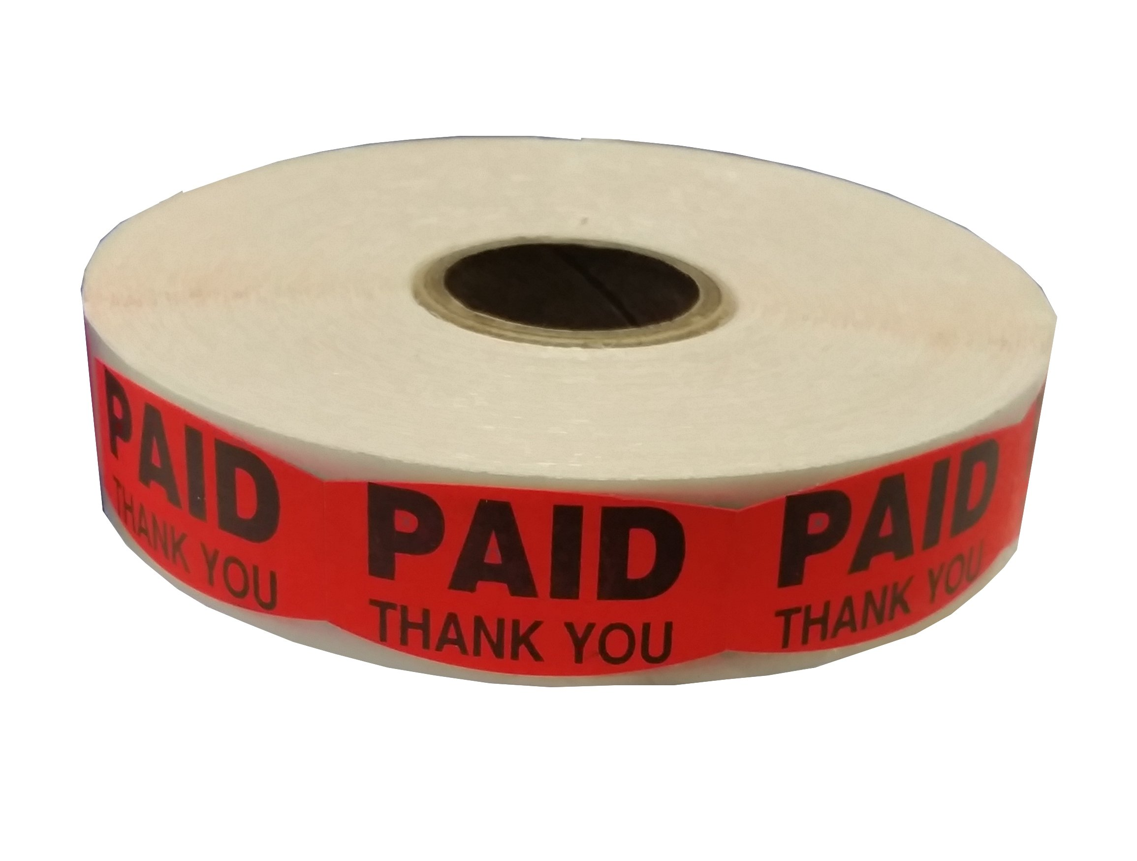 USA PAID, THANK YOU Labels 1 7/8'' x 3/4'' (1000)