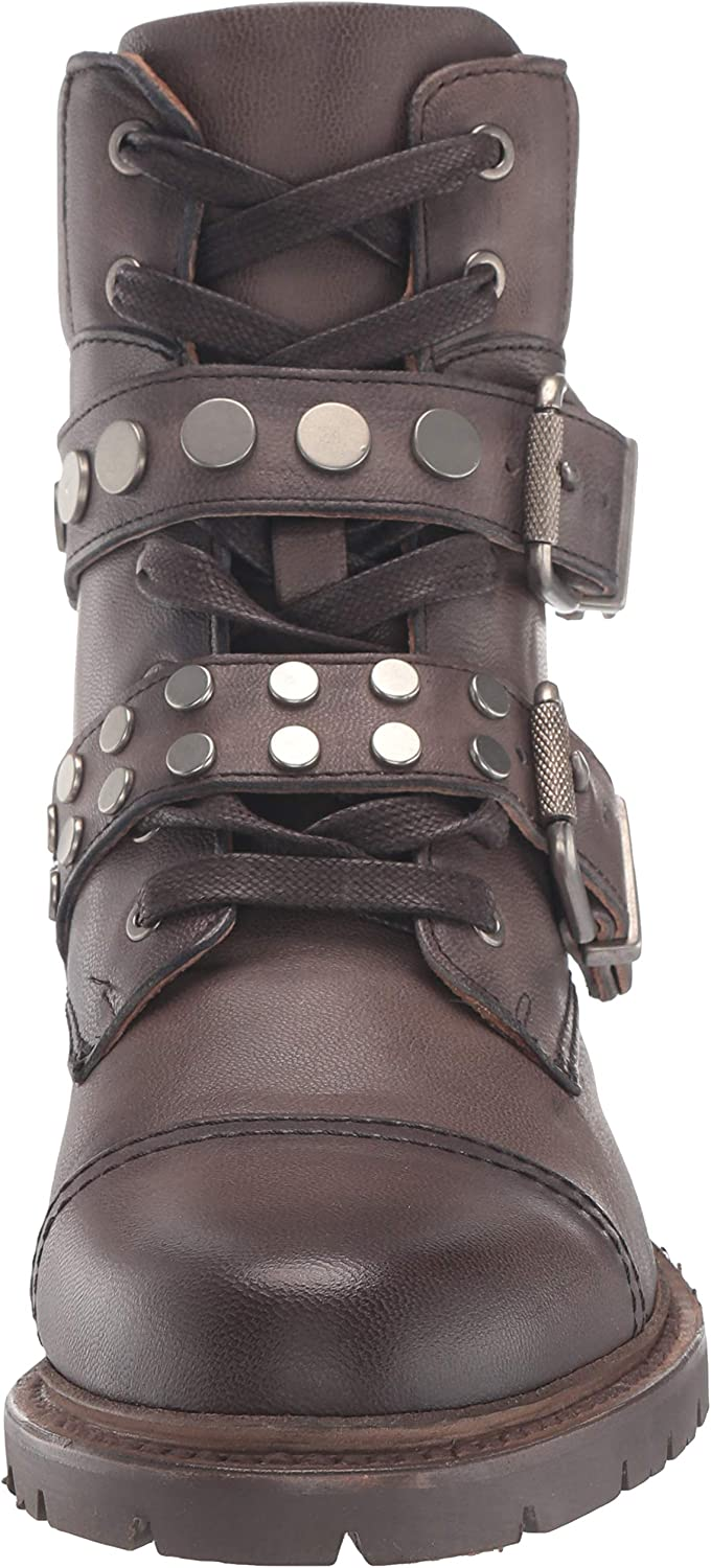 Frye Womens Samatha Stud Hiker Hiking Boot