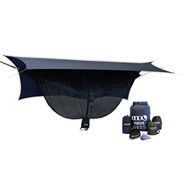 ENO Eagles Nest Outfitters - DoubleNest Insect Shield OneLink Sleep System, ENO Hammock Pack