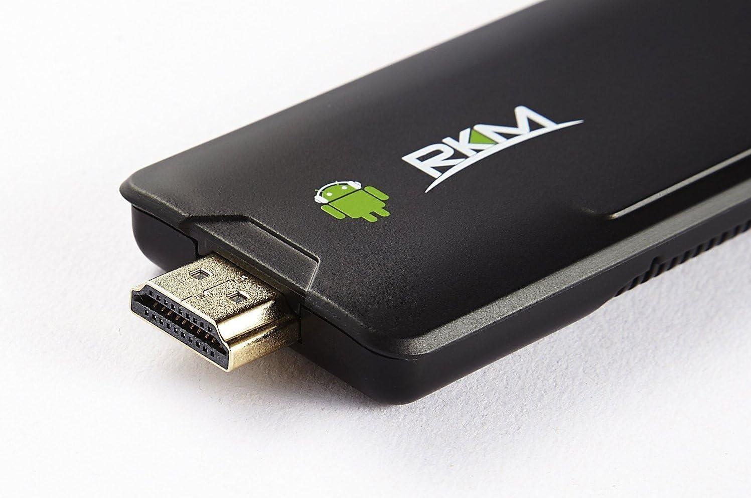 RKM Rikomagic Quad Core Mini PC MK802 IV RK3188 Bluetooth Android 4.2 - 16Gb: Amazon.es: Informática
