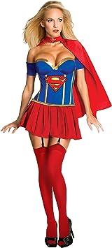 Supergirl? para disfraz de mujer sexy: Amazon.es: Juguetes y juegos