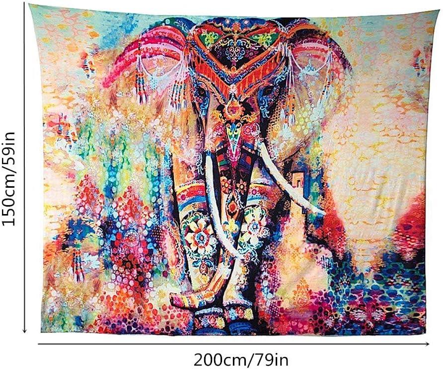 130 MOPKJH Teli da Parete Arazzo Etnico Arte della Parete Africana Decorazioni estetiche della Stanza Arazzo Appeso a Parete Accessori per la casa 150