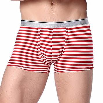 Ropa interior para hombre calzoncillos para hombre Boxer calzoncillos Slip suave transpirable para deporte gimnasio elástica