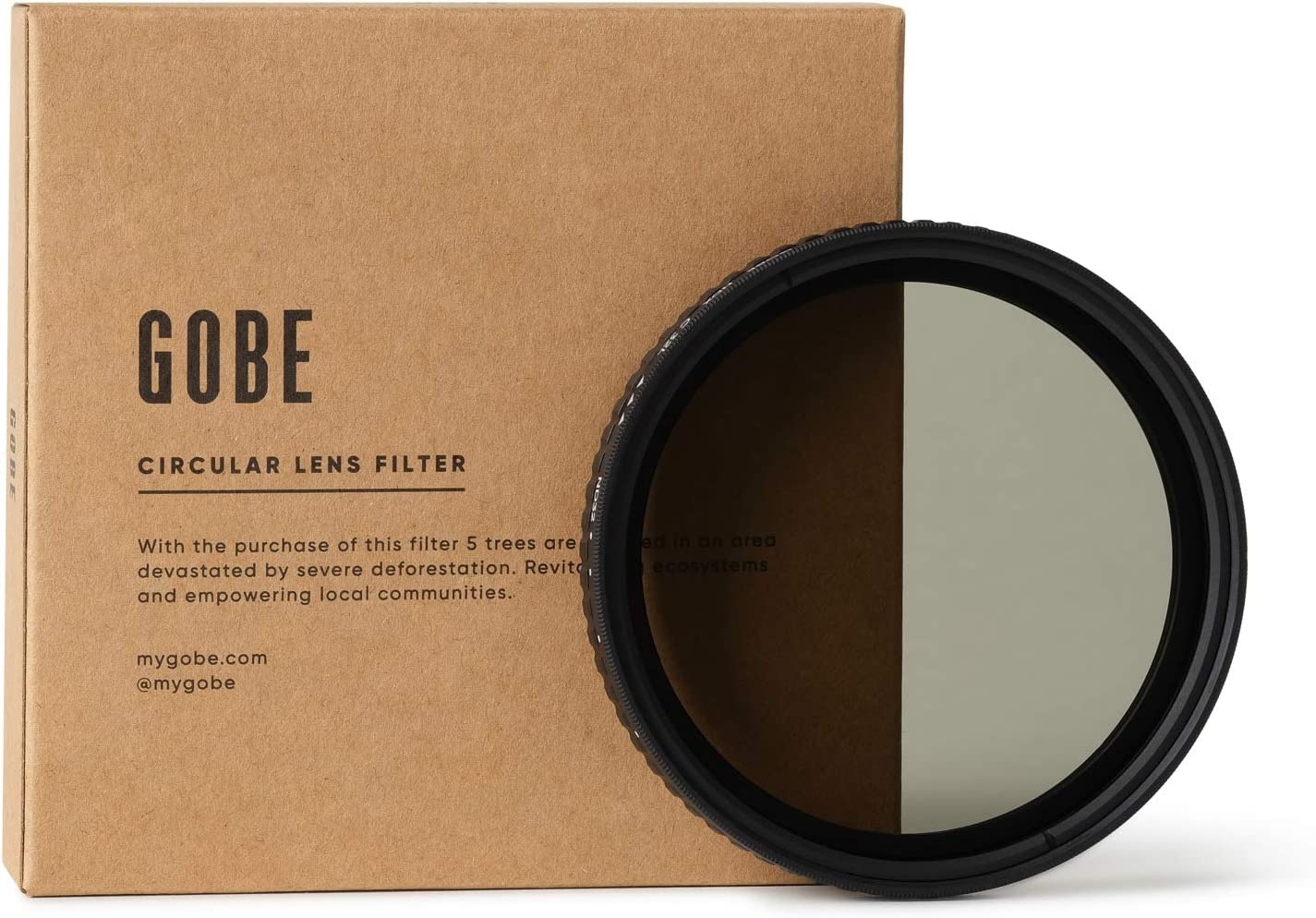Gobe Filtre ND Variable ND2-32 3Peak 1-5 Stops pour Objectif 72 mm