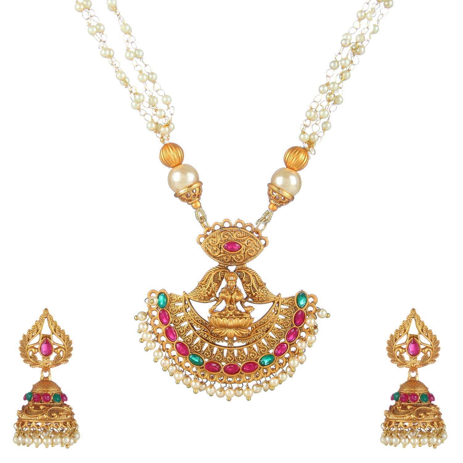 Buy Penny Jewels Alloy Fashion Designer Beautiful Necklace Set For