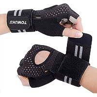 Gant fitness, Gants de sport gants pour levage de poids d'entraînement avec soutien au poignet, protection paume forte adhérence, respirants pour fitness musculation gymnastique, levage de poids