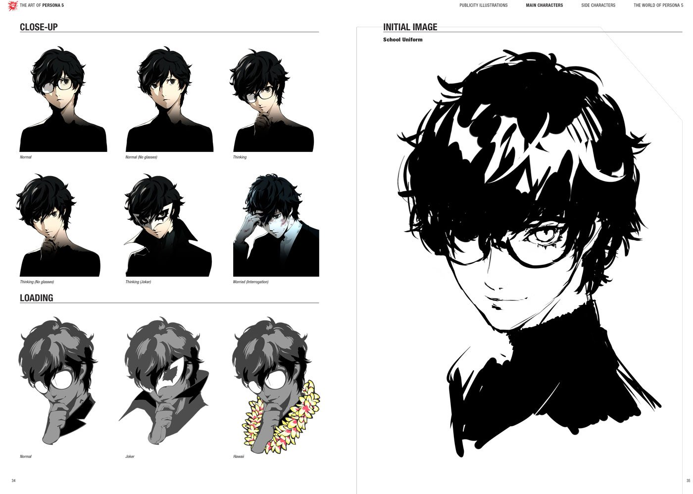 The Art of Persona 5 by Prima Games