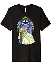 Disney Princess And The Frog Tiana Naveen Arch T-Shirt