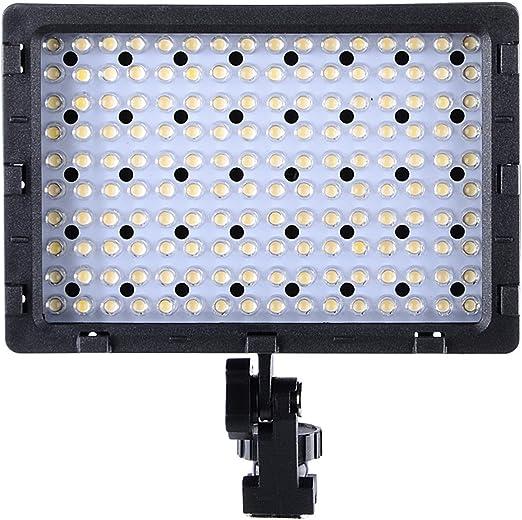 Luz LED para cámara réflex Hakutatz, luz con 160 pcs LED 3 filtro ...