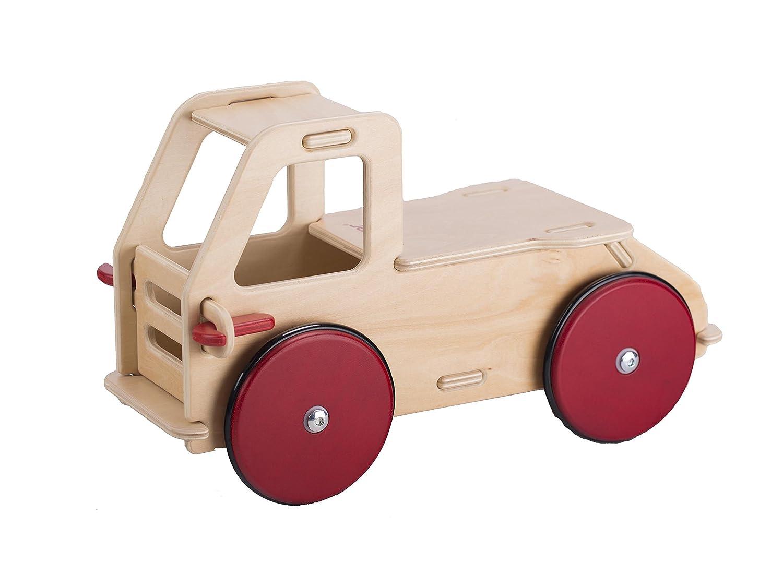 Moover Baby Kipplaster Kinder Traktor Holz
