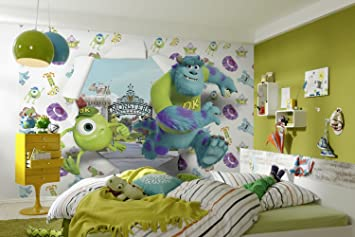 Kids Wallpaper DISNEY MONSTER UNIVERSITY Childrens Wall Part 35