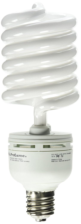CFL105//50//E39 Twist Mogul Screw Base Compact Fluorescent Light Bulb Bulbconnection ProLume BC9271 45614