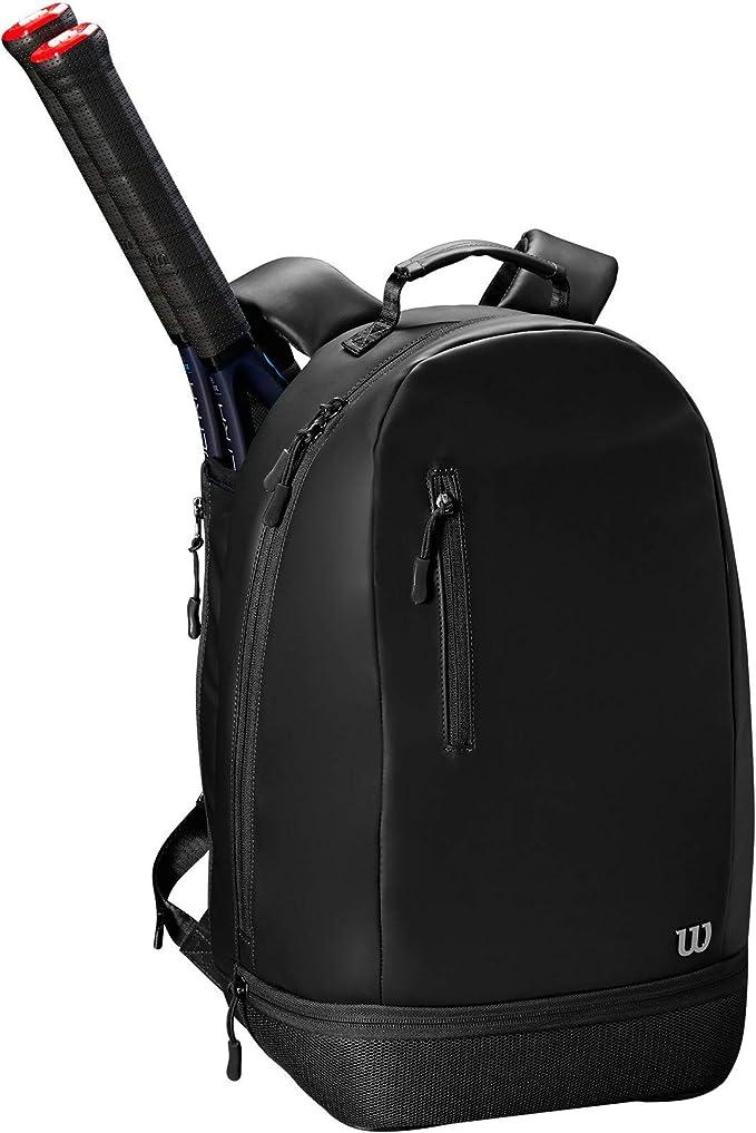 Wilson Ladies Minimalist Tennis Backpack Up To 2 Rackets Black Wrz863995 Bekleidung