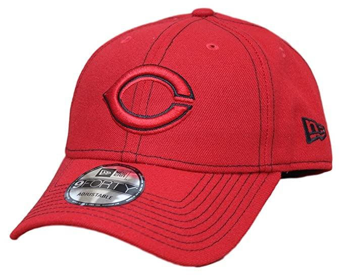 8e9dc9df5ce216 Image Unavailable. Image not available for. Color: Cincinnati Reds New Era  9Forty MLB The League ...