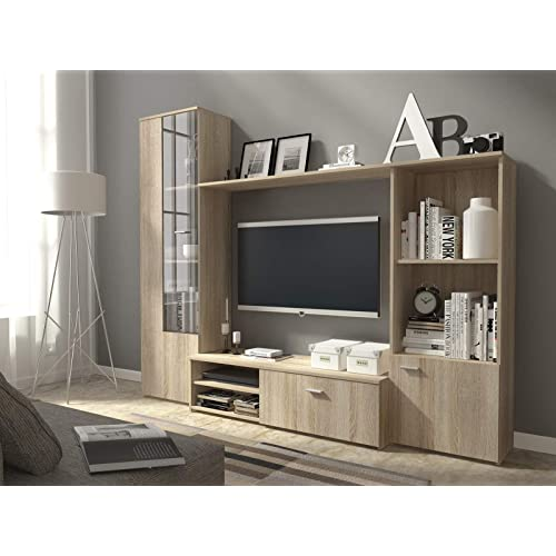 Images Of Living Room Units: Living Room Wall Units: Amazon.co.uk