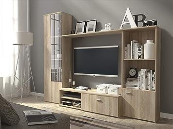 Ordinaire HUGO TV Unit Wall Unit Living Room Furniture (Oak Sonoma)