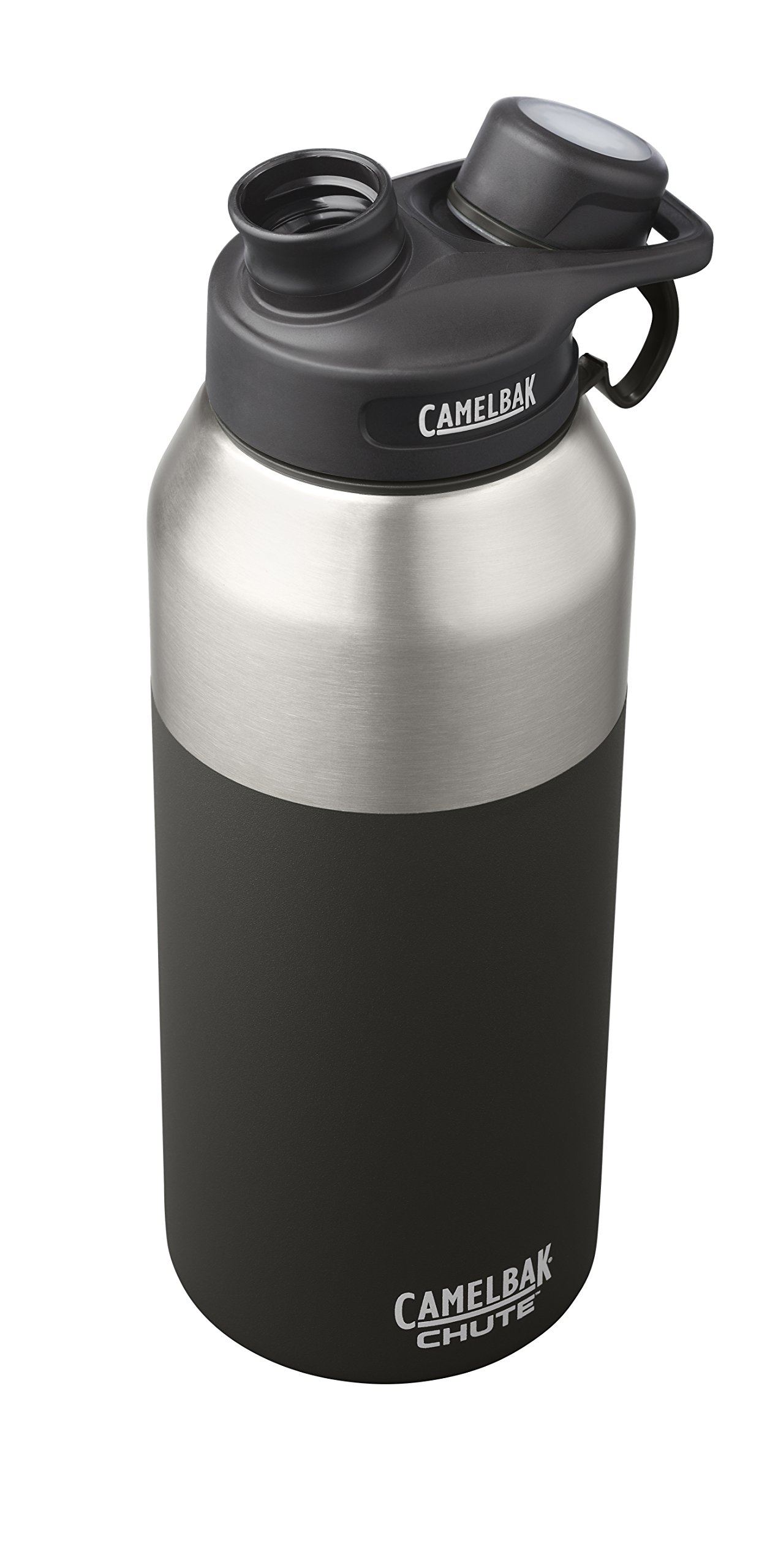 CamelBak 53868 Chute Vacuum Insulated Stainless Water Bottle, 40 oz, Jet by CamelBak (Image #3)