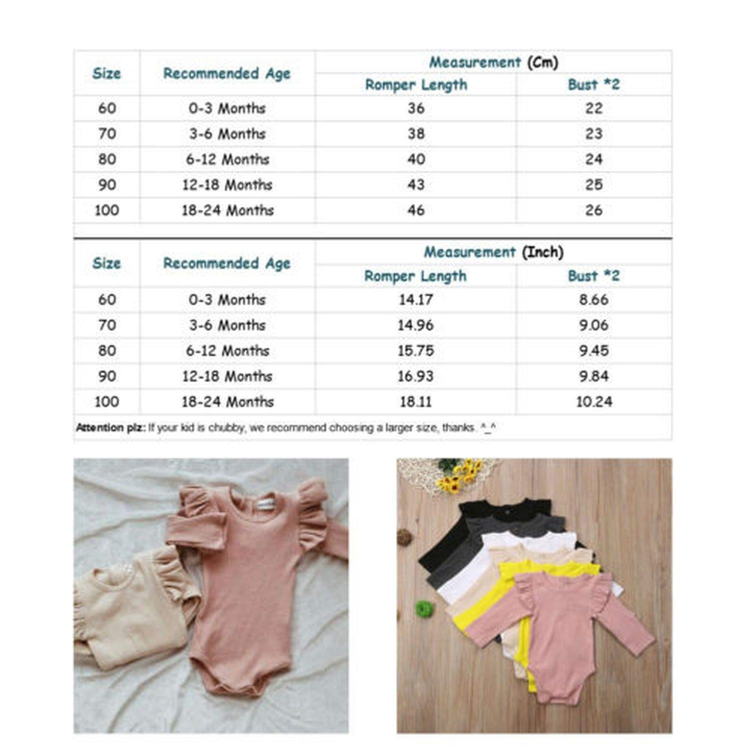 Bluecandy Winter Baby Girl Rompers Autumn Princess Newborn Baby Clothes for 0-2Y Girls Boys Long Sleeve Jumpsuit