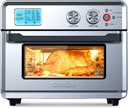 Amazon Com Calmdo Air Fryer Toaster Oven 26 3 Qt Convection