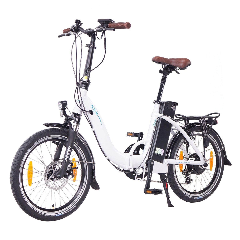 """NCM Paris 2016, 20"""" bicicleta eléctrica plegable"""