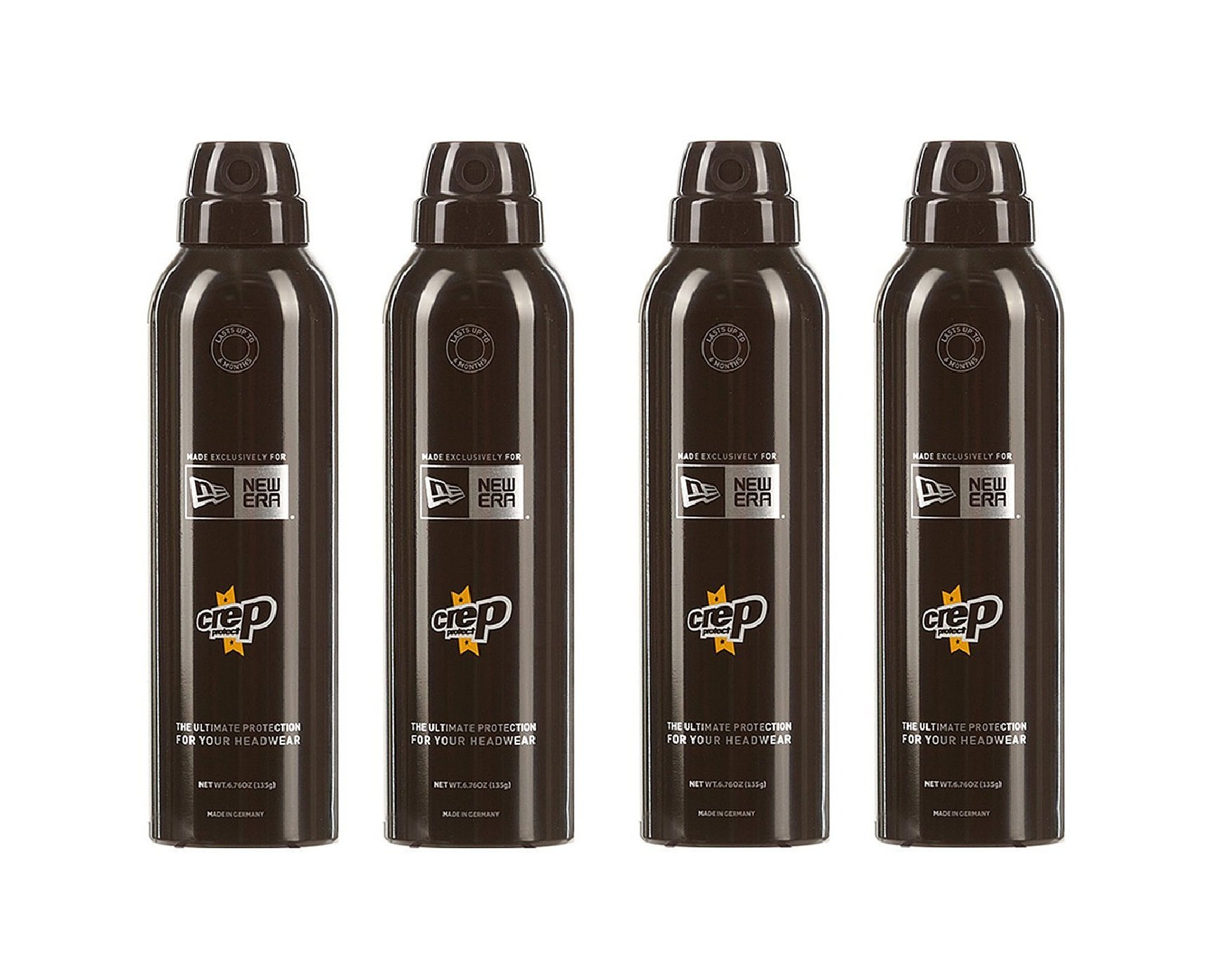 Crep Protect x New Era Headwear Protection Clear (4 Bottles of 200ml)