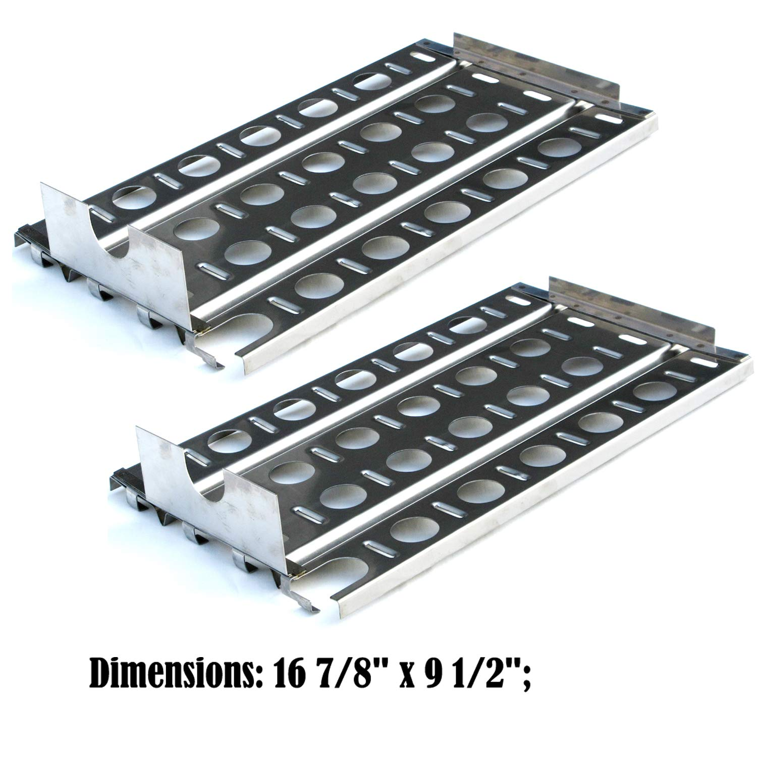 Direct store Parts DP114 (2-pack) Stainless Steel Heat plates Replacement Lynx Gas Grill Models (2) by Direct store (Image #2)