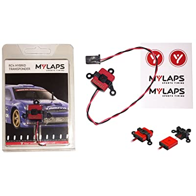 MyLaps RC4 Hybrid (2-wire) Transponder for R/C Cars (AMBrc, AMB rc): Toys & Games