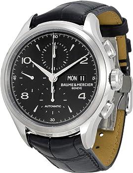 Baume Et Mercier Capeland Chronograph Black Dial Mens Watch
