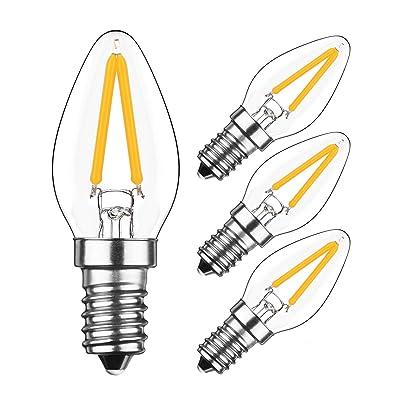 E14 Yiun De Ampoule Blanc Filament 2w 200lm Led Nuit2700k C7 Chaud dQrCoWxBeE