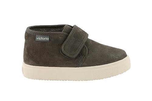 Zapatillas Victoria 25053 - Bota Chukka Serraje Velcro Moca unisex ni?os: Amazon.es: Zapatos y complementos
