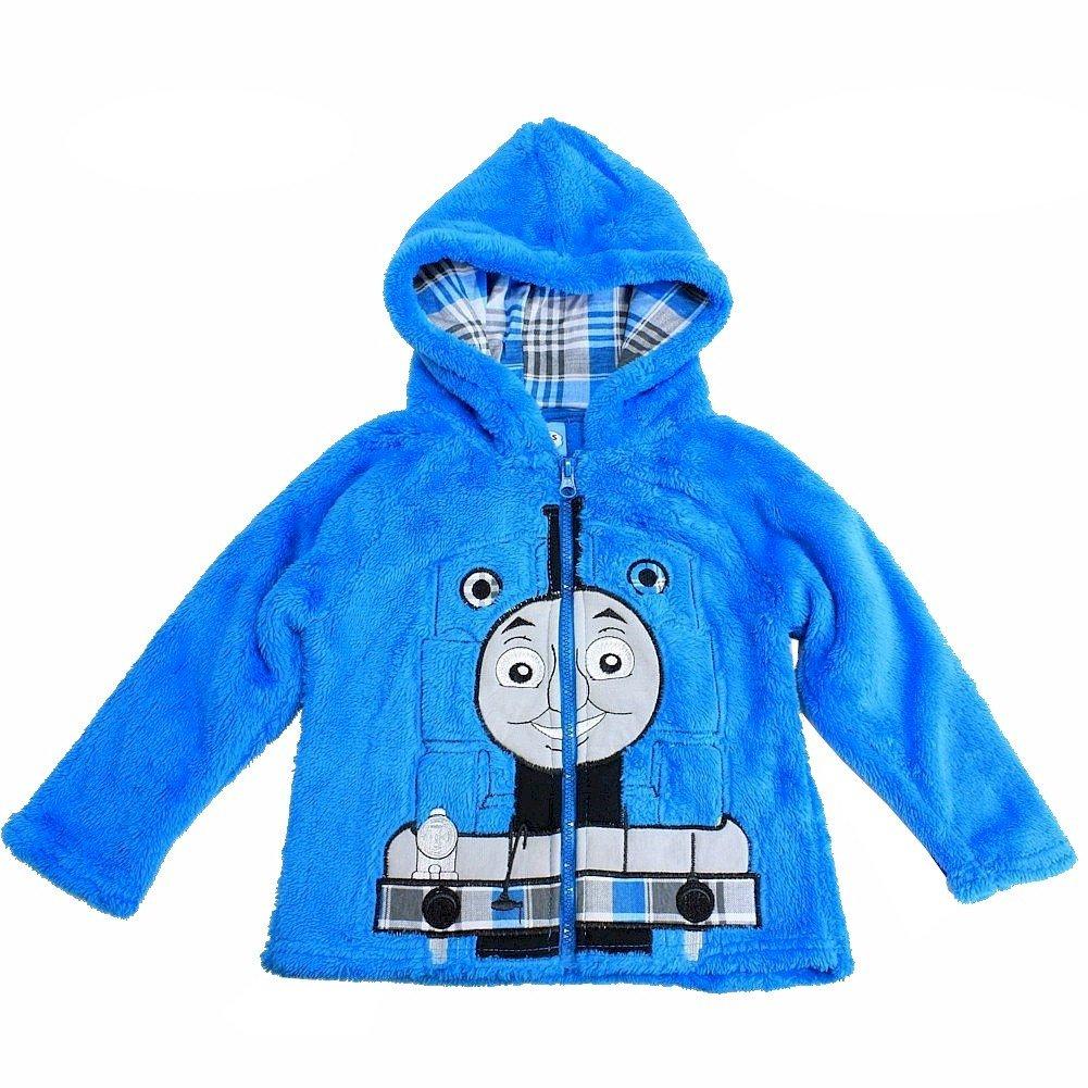 Thomas /& Friends Toddler Boys Thomas The Train Blue Full Zip Velboa Hoodie