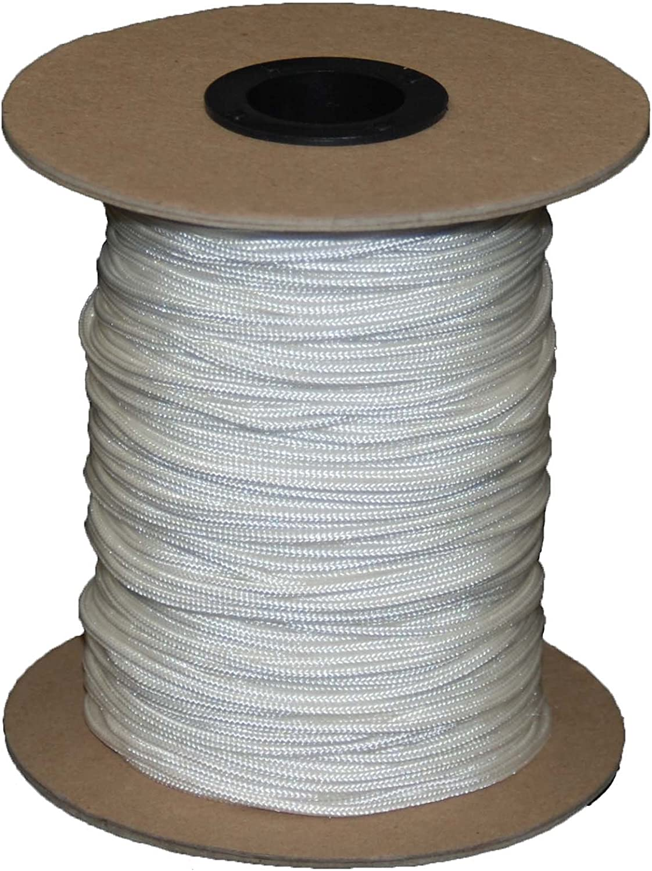 T.W Evans Cordage 70-101 Crosslace Lacrosse 300-Feet String, Spool White