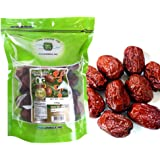 BIG SIZE 100% Natural Organic Dried Dates Snacks Fruit Jujube 12 oz 대추