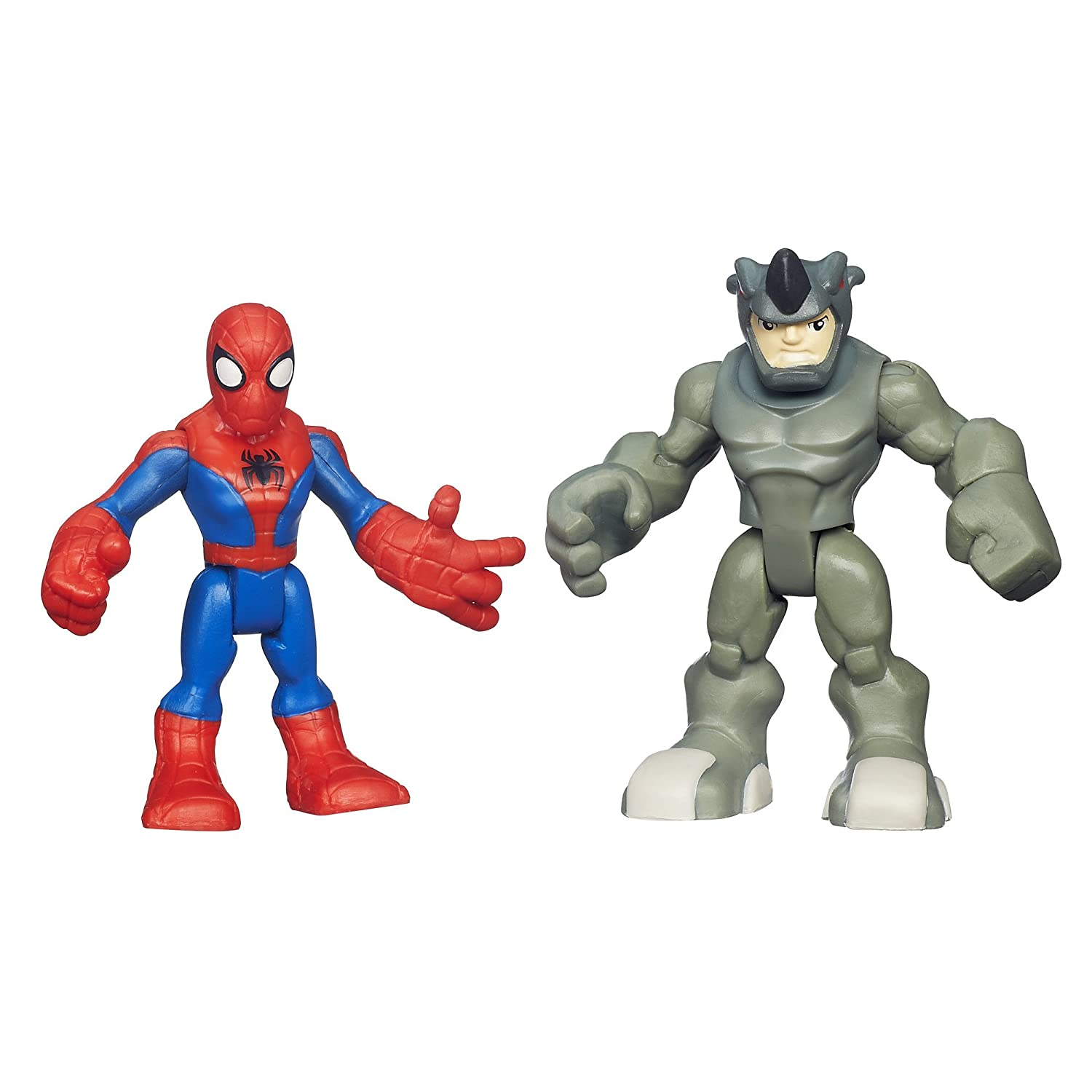 Playskool Heroes Spider-Man and Rhino Figures Hasbro Canada Corporation A7113