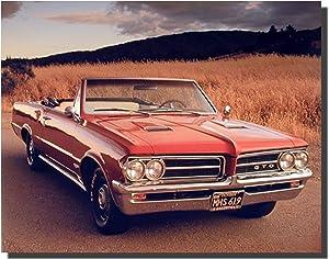 1964 Pontiac GTO Vintage Classic Car Wall Decor Art Print Poster (16x20)