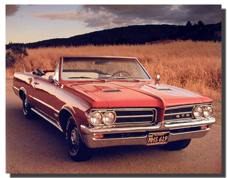 Amazon 1964 pontiac gto vintage classic car wall decor art amazon 1964 pontiac gto vintage classic car wall decor art print poster 16x20 posters prints teraionfo