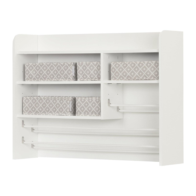 South Shore Furniture 10489 Crea Pure White Craft Storage Hutch