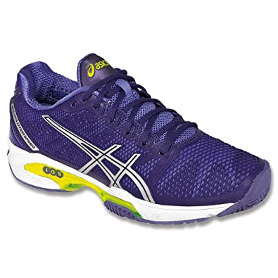 Womens ASICS GEL-Solution Speed 2 Clay Court, Purple/Silver/Medium Purple