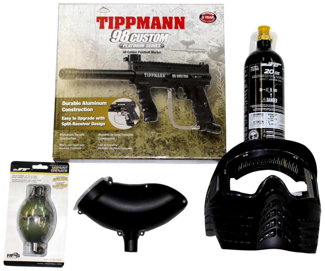 Tippmann 81960 98 Package Sports Outdoors Flatline Barrel Manual